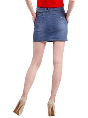 Hash 69 H 302 Light Blue Skirt