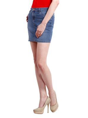 Hash 69 H 302 Light Blue Skirt