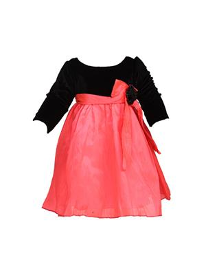 Soft Touch ST0128 Pink Girl Dress
