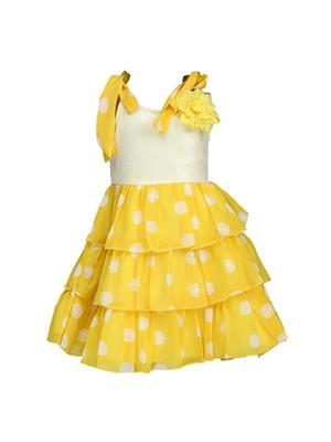 Soft Touch ST0104 Yellow Girl Dress