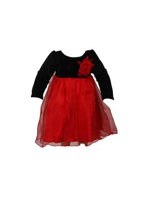 Soft Touch ST0113 Red Girl Dress