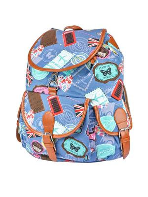 Fashionista Stb-015-Blue Backpacks