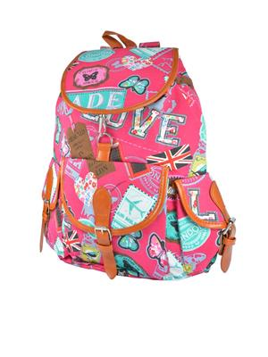 Fashionista Stb-015-Pink Backpacks