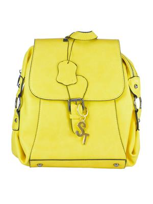 Fashionista Stb-016-Yellow Backpacks