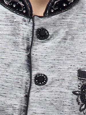 Swarnam 3030 Grey  Mens Ethnic Wear