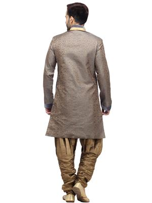 Swarnam 2018 Grey  Mens Ethnic Wear