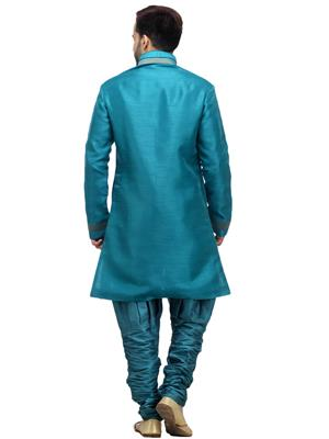 Swarnam 3054 Green  Mens Ethnic Wear