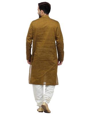 Swarnam 1010  Brown  Mens Ethnic Wear