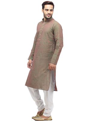 Swarnam 1010  Green  Mens Ethnic Wear