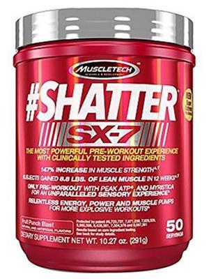 MUSCLETECH SX-7 SHATTER FRUIT PUNCH/291 GM