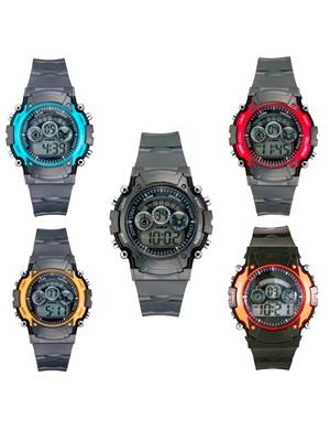Mango People syn-5color Sport Digital Watch Combo Pack