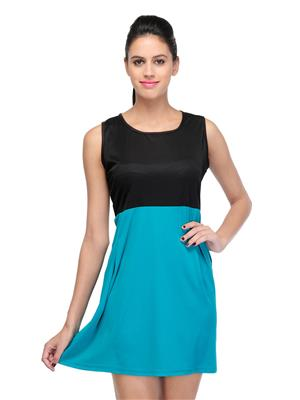 Track Deal Tddrs1278 Turquoise Women Dresses