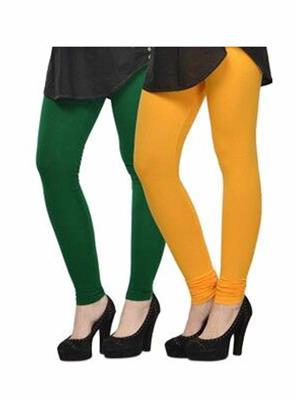 Trackdeal Tdlleggins078 Multicolor Women Legging Combo Of 2