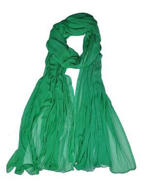 Trackdeal Tdldt163 Light Green Women Dupatta