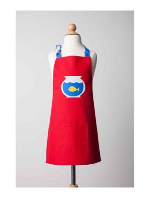My Gift Booth Tk14 Red Fish Apron