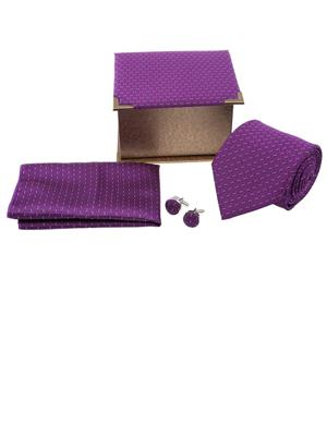 Tosiddos TSG 12 Purple Mens Necktie
