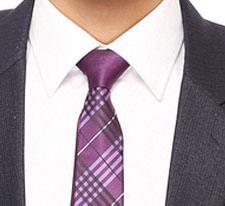Tosiddos RSTS 08 Purple  Mens Necktie