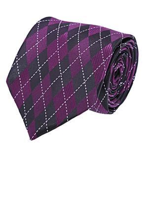 Tosiddos  MFST 316 Purple Mens Necktie