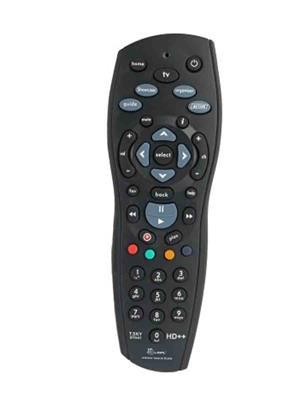 Tata Sky ts1 Black Remote Controller