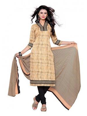Vihana v006 Brown Women Dress Materials