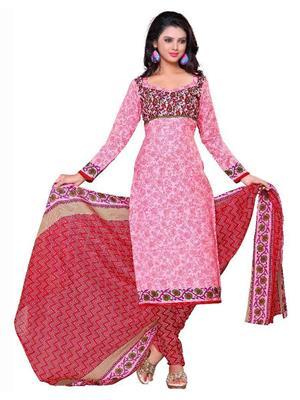 Vihana v027 Pink Women Dress Materials