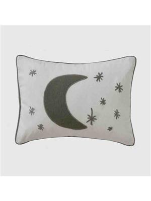 Decorize w11  White  Printed Cushion
