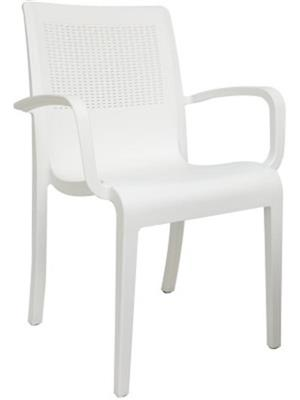 Testo Furniture w2 White Chair