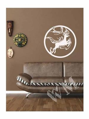 Wallmantra wmnaan003S Multicolored Wall Stickers