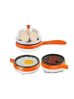 Fit Life Line Wwp144 White-Orange Egg Cooker