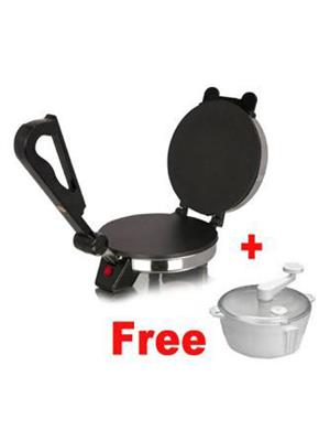 Fit Life Line 26 Black Roti Maker With Dough Maker Combo