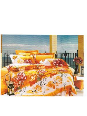 Boofa z1097 Multicolored Designer Bedsheet set
