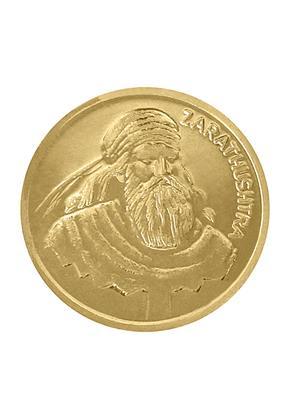 Love Bright Jewelry zarathushtra-agvy  Yellow Women Silver Coins